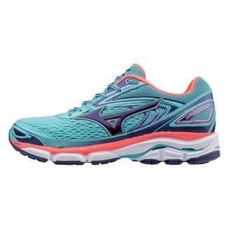 Mizuno Wave Inspire 13 Blue Radiance / Blueprint / Fiery Coral