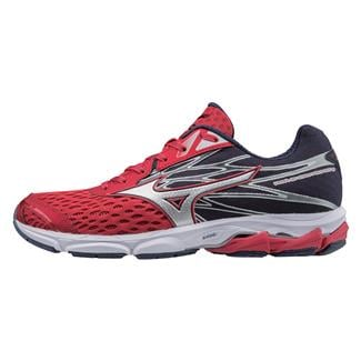 Mizuno Wave Catalyst 2 True Red / Silver / Peacoat
