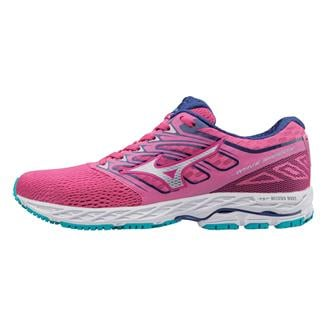 Mizuno Wave Shadow Fuchsia Purple / Silver / Tile Blue