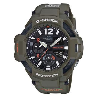 Casio Tactical Master of G GravityMaster GA1100KH Olive