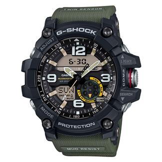 Casio Tactical Master of G MudMaster GG1000 Military Green