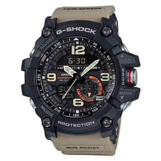 Casio Tactical Master of G MudMaster GG1000 Military Beige