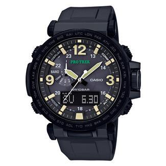 Casio Tactical Pro Trek Solar Atomic PRG600Y Black