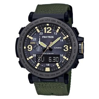 Casio Tactical Pro Trek Solar Atomic PRG600Y Green