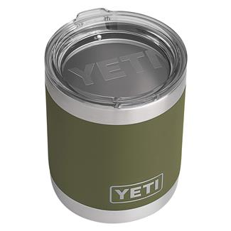 YETI Rambler 10 oz. Lowball with Lid Olive