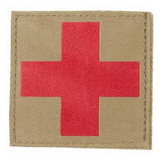 Blackhawk Red Cross Patch Coyote Tan