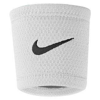 NIKE Dri-FIT Stealth Wristband White / Wolf Gray / Black
