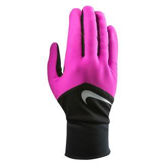 NIKE Dri-FIT Tempo Run Gloves Hyper Pink / Black / Silver