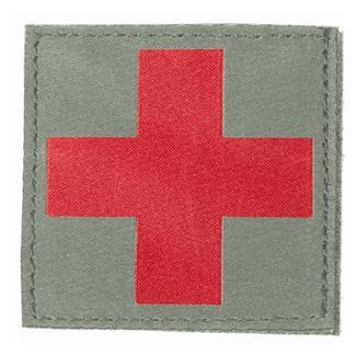 Blackhawk Red Cross Patch Foliage Green