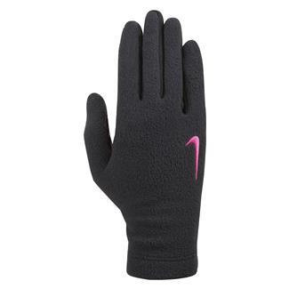 NIKE Fleece Performance Gloves Black / Black / Hyper Pink