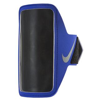 NIKE Lean Arm Band Blue / Black / Silver