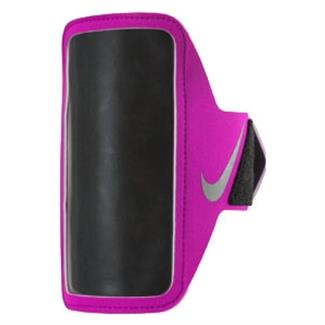 NIKE Lean Arm Band Pink / Black / Silver