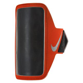 NIKE Lean Arm Band Max Orange / Black / Silver