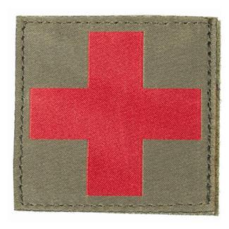 Blackhawk Red Cross Patch Olive Drab
