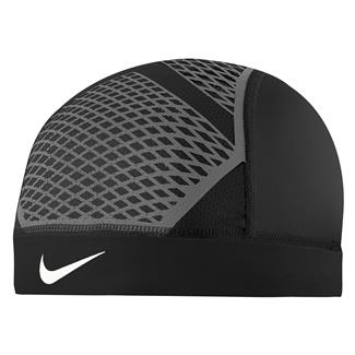 NIKE Pro Hypercool Vapor Skull Cap 4.0 Black / Dark Gray / White