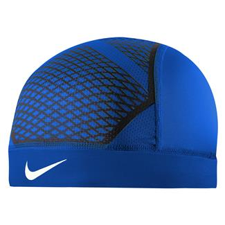 NIKE Pro Hypercool Vapor Skull Cap 4.0 Game Royal / Black / White
