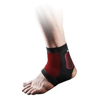 NIKE Pro Hyperstrong Ankle Sleeve 2.0 Black / Metallic Silver / White