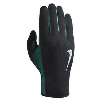 NIKE Rally Run Gloves 2.0 Black / Rio Teal / Silver