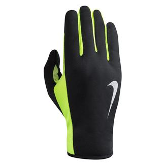 NIKE Rally Run Gloves 2.0 Black / Volt / Silver