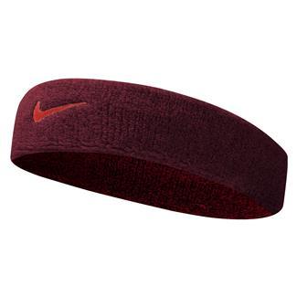 NIKE Swoosh Headband Team Red / Max Orange