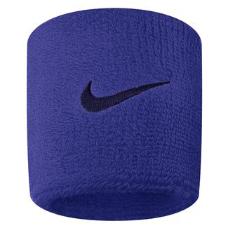 NIKE Swoosh Wristband (2 pack) Comet Blue / Binary Blue