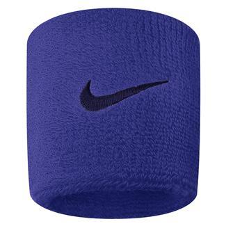 NIKE Swoosh Wristband (2 pack) Comet Blue / Binary Blue