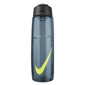 NIKE T1 Flow Swoosh 32 oz. Water Bottle Squadron Blue / Volt