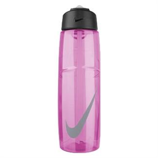 NIKE T1 Flow Swoosh 32 oz. Water Bottle Ion Pink / Wolf Gray