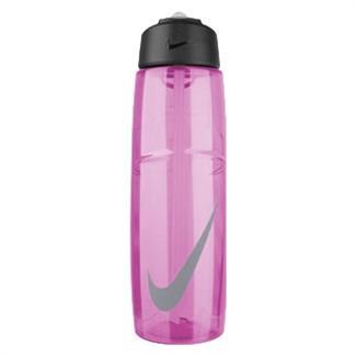 NIKE T1 Flow Swoosh 32 oz. Water Bottle Ion Pink / Wolf Gray
