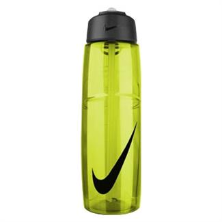 NIKE T1 Flow Swoosh 32 oz. Water Bottle Volt / Black