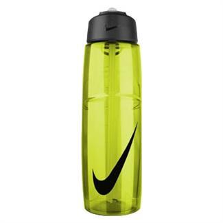 NIKE T1 Flow Swoosh 32 oz. Water Bottle Volt / Black