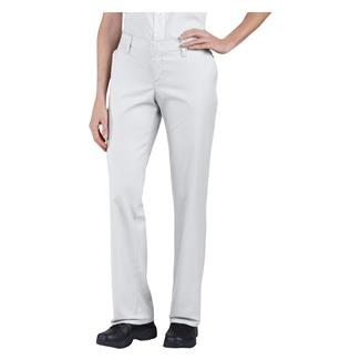 Dickies Premium Relaxed Straight Flat Front Pants White
