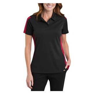 Dickies Performance Color Block Polo Black / English Red