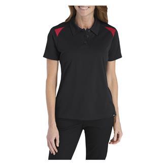 Dickies Team Performance Shop Polo Black /  English red
