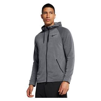NIKE Dry Training Full Zip Hoodie Dark Gray / Cool Gray / Black