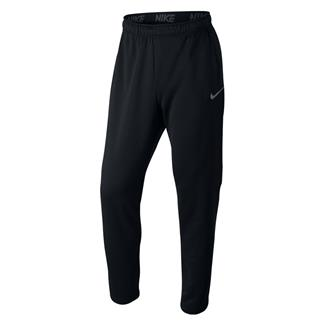 NIKE Dry Training Pants Black / White