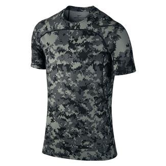 NIKE Pro Hypercool T-Shirt Tumbled Gray / Black / Black
