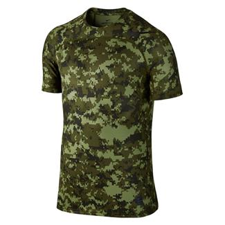 NIKE Pro Hypercool T-Shirt Palm Green / Legion Green / Black