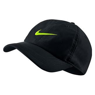 NIKE Twill H86 Hat Black / Black / Volt