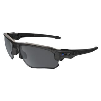 Oakley SI Speed Jacket Thin Blue Line Blue Black (frame) - Black Iridium (lens)