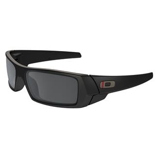 Oakley SI Gascan Thin Red Line Satin Black (frame) / Black Iridium (lens)