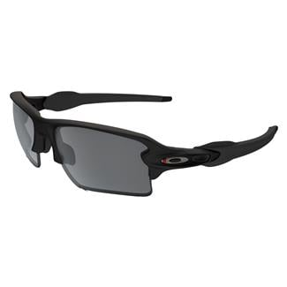 Oakley SI Flak 2.0XL Thin Red Line Satin Black (frame) / Black Iridium (lens)