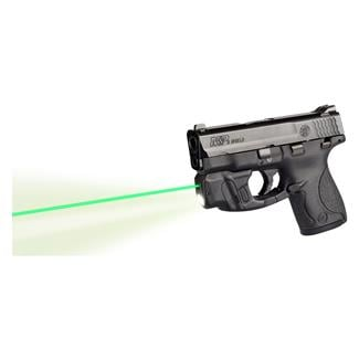Lasermax CenterFire Light & Laser with GripSense for S&W Shield 9mm, .40 cal Green