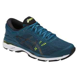 ASICS GEL-Kayano 24 Ink Blue / Black / Safety Yellow
