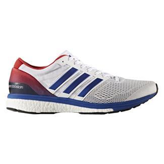 Adidas Adizero Boston 6 Ftwr White / Collegiate Royal / Scarlet