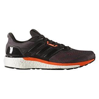 Adidas Supernova Utility Black / Core Black / Solar Orange