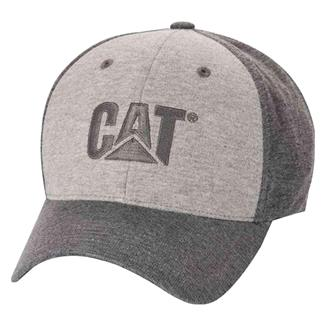 CAT Trademark Jersey Cap Haether Gray
