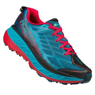 Hoka One One Stinson ATR 4 Bue Coral / True Red