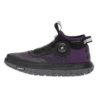 Under Armour Fat Tire 2 Premiere Purple / Rhino Gray / Black