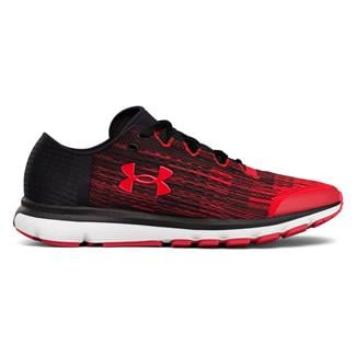 Under Armour SpeedForm Velociti Red / Black / Red